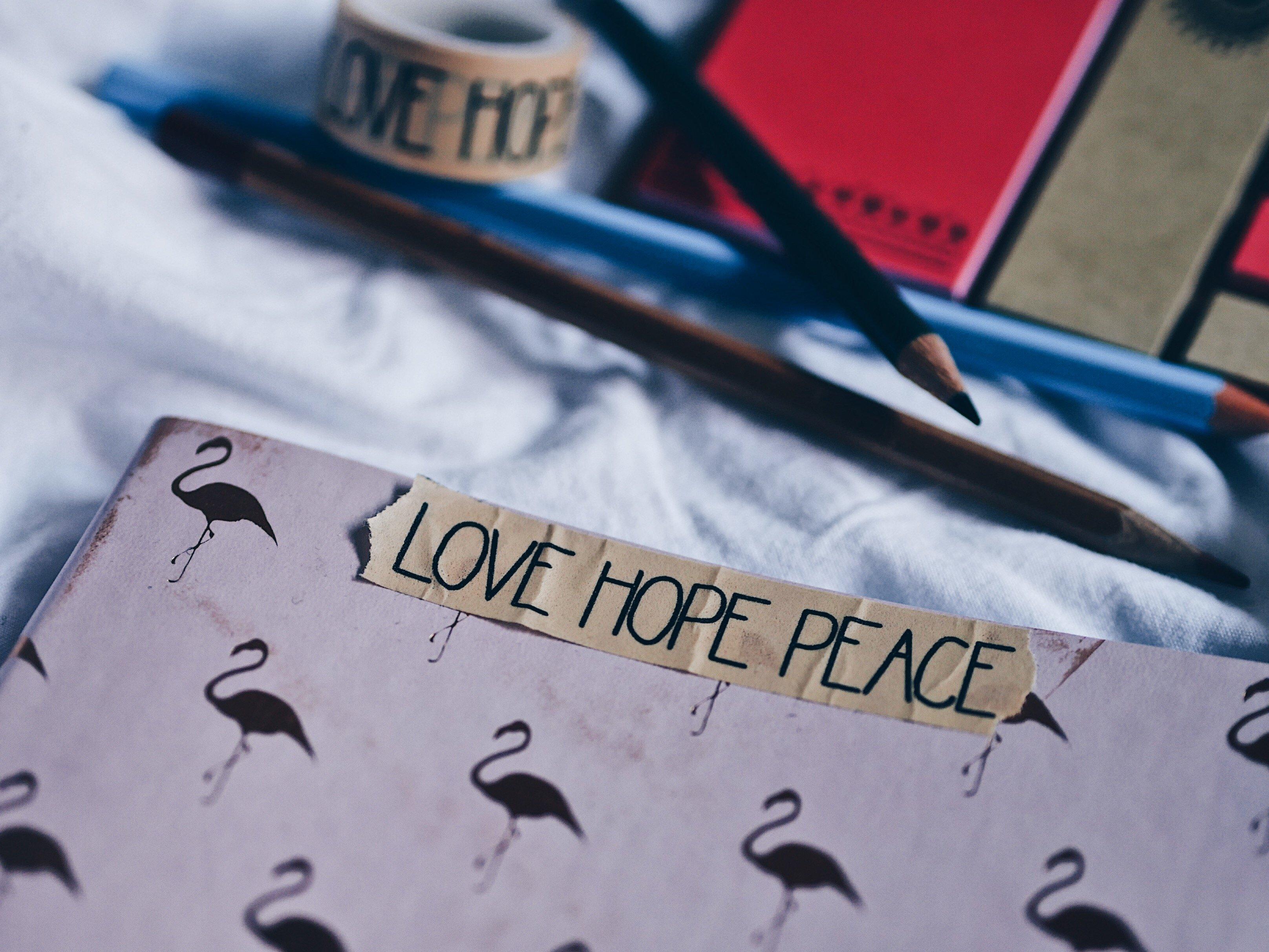 Love Hope Peace