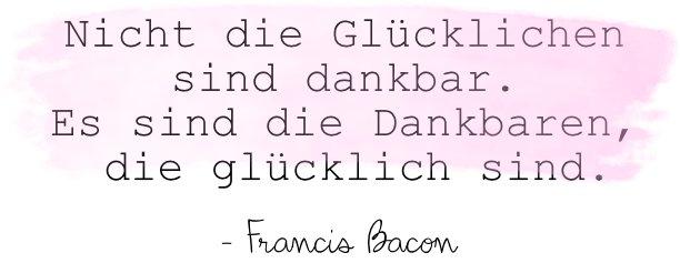 Francis Bacon dankbar