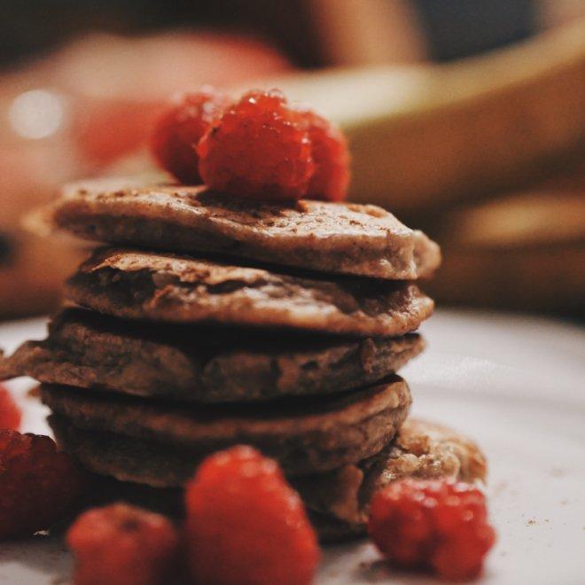 Pancakes zuckerfrei und vegan