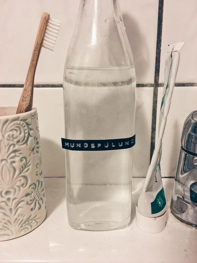 Mundwasser selbstgemacht