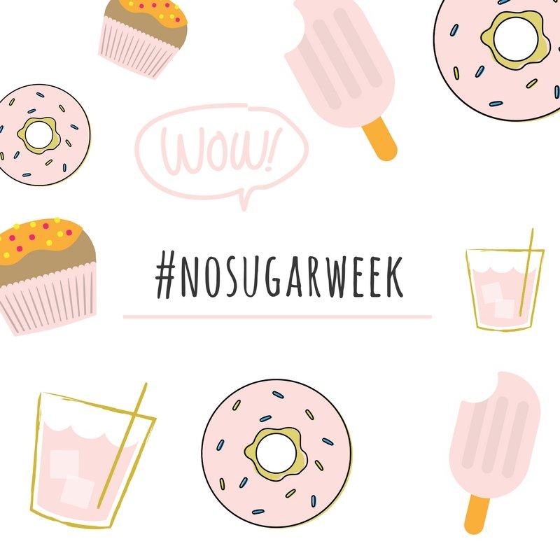 nosugar week Zucker